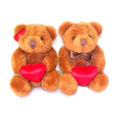 "Couple Mini Bear (3"")"